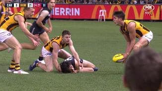 Zac Fisher suffers ankle injury