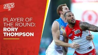 SUNS TV: RD18 Player of the Round - Rory Thompson