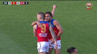 Beams boots it from 60m