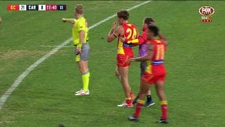 Cripps tackle leaves Swallow seeing stars