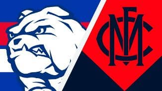 Highlights: Western Bulldogs v Melbourne