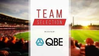 Team Selection- Rd 12, 2018