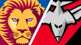 Highlights: Brisbane v Essendon