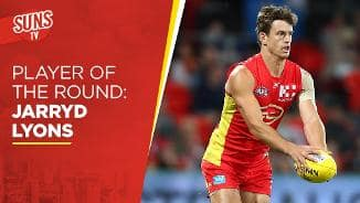 SUNS TV: Player of the Round - Jarryd Lyons