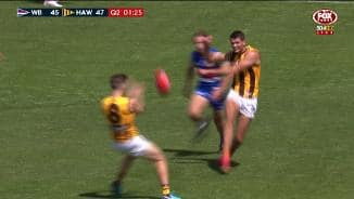 JLT: Burton's unreal half-volley pass