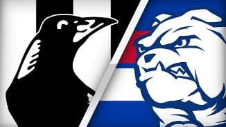 JLT: Magpies v Bulldogs Q4