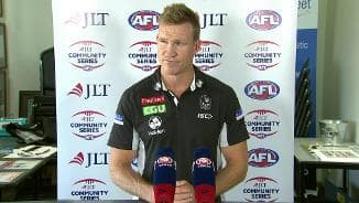 JLT: Magpies post-match presser