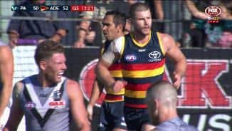 JLT: Gibbs has the Crows at full flow
