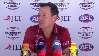 Bombers post-match presser