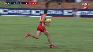 JLT: Lynch weighs through-ball perfectly