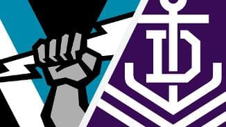 Highlights: Port Adelaide v Fremantle