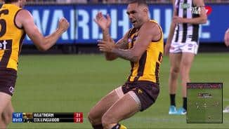 Rioli active and Burgoyne goes bang