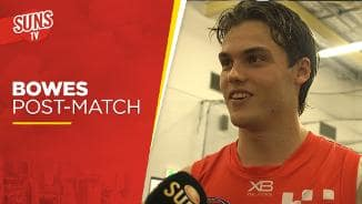 SUNS TV: Jack Bowes post-match interview