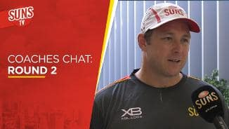 SUNS TV: Coaches Chat - Round 2