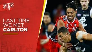 Last time we met: Carlton