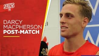 SUNS TV: Darcy Macpherson post-match interview