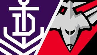 Highlights: Fremantle v Essendon