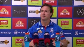 Post Match | Beveridge Press Conference (Rd7)