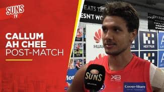 SUNS TV: Callum Ah Chee post-match