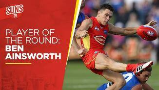 SUNS TV: Player of the Round - Ben Ainsworth