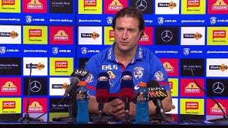 Post Match | Beveridge Press Conference (Rd 8)