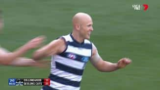 Ablett's impact before the break