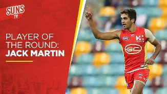 SUNS TV: Player of the Round - Jack Martin