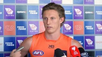 Presser: Lachie Whitfield on 100 games