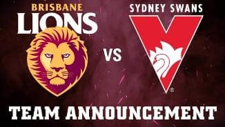 Team Announcement: Round 10