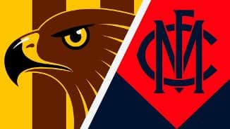 Highlights: Hawthorn v Melbourne