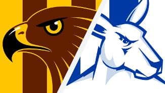 Highlights: Hawthorn v North Melbourne