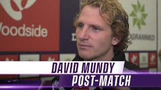 'Effort was there' - Mundy