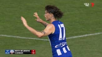 Pittard's first goal as a Roo (Rd 5, 2019)