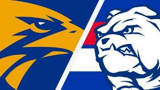 Highlights: West Coast v Western Bulldogs
