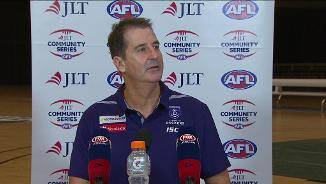 Lyon: New Freo big man 'stood up today'