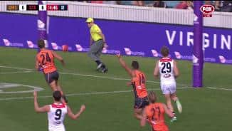Coniglio's 60m snap fools everybody
