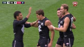 Powerful Curnow erupts at Magpie faithful