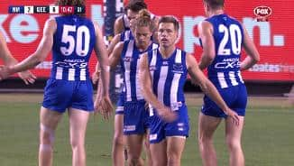 Higgins on hand to pick up Roo mess