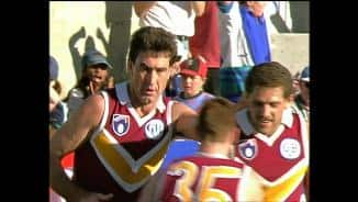 Classic Last Two Mins, 1995: Bris v Haw, hall of famers all over the field