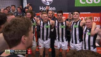 Team song: Collingwood