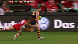 Footy's tackling king