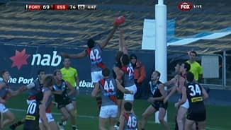 Bomber hands over a goal