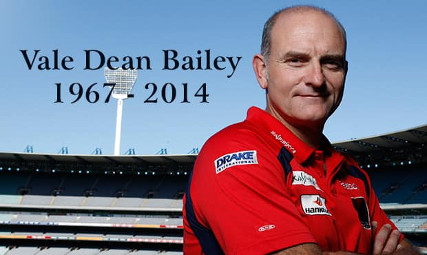 Dean Baileys deathbed message to guide Adelaide Crows