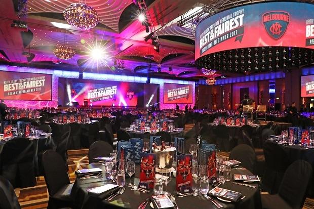 Melbourne Football Club 2017 Keith 'Bluey' Truscott Best & Fairest Presentation Dinner