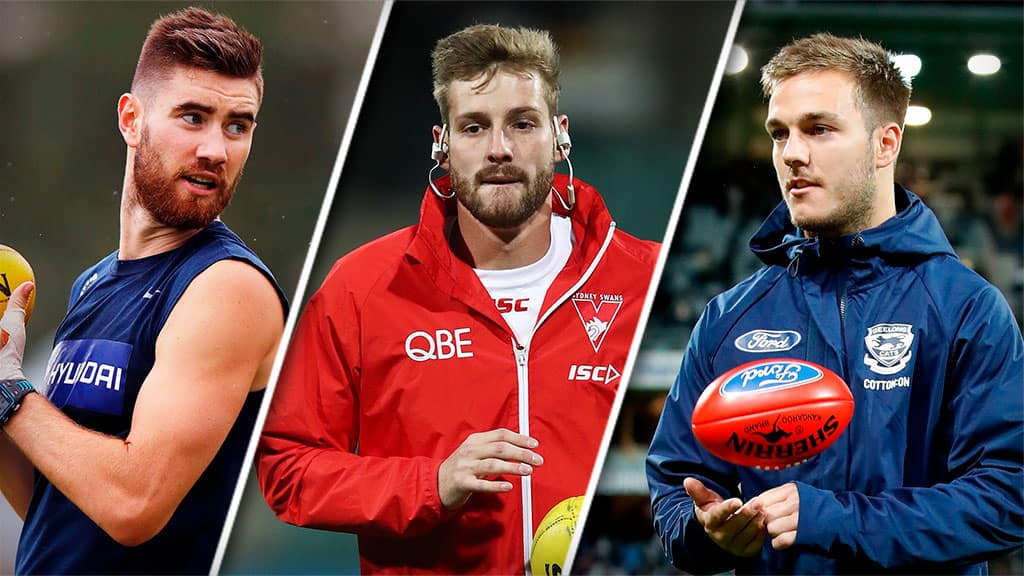Kristian Jaksch, Alex Johnson and Cory Gregson have all nominated for the mid-season draft - AFL,Draft,Tag-Draft