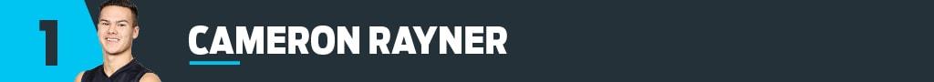 1 Cameron Rayner