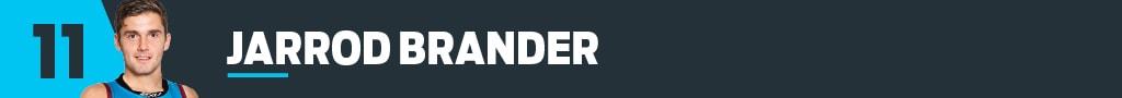 11 Jarrod Brander