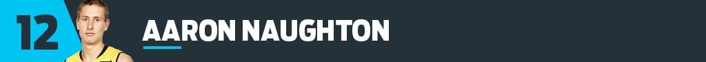 12 Aaron Naughton
