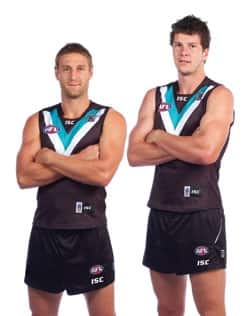 Port Adelaide's Jay Schulz and Jarrad Redden ready to return to Yorke Peninsula