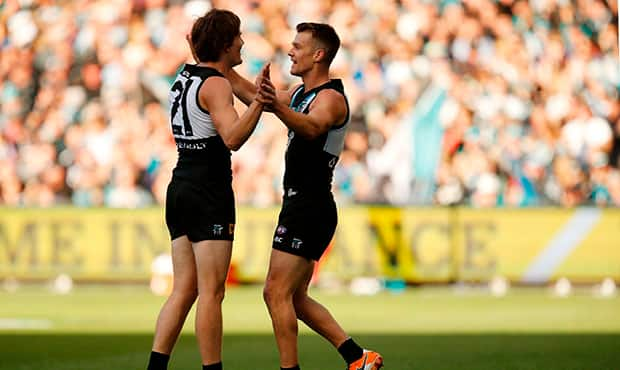 AFL 2017 Round 02 - Port Adelaide v Fremantle